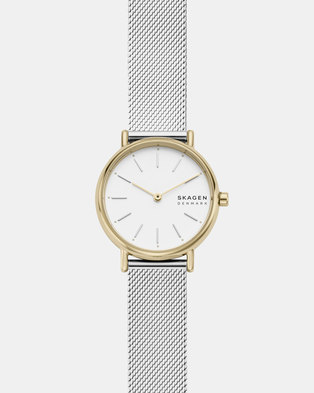 Skagen Signature SS Watch Silver/Gold