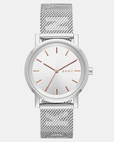 DKNY Soho SS Watch Silver