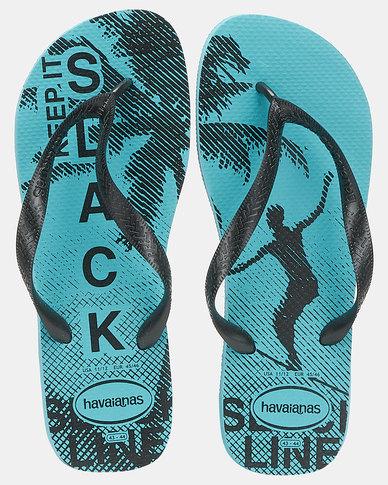 Havaianas Top Athletic Flip Flops Traditional Blue