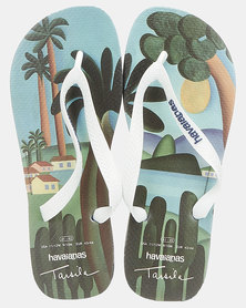 Havaianas Top Tretratos Pr Flip Flop Marine Blue/White