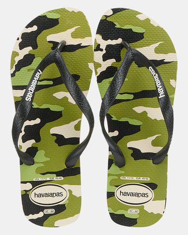 Havaianas Top Camo Flip Flop Beige/Black
