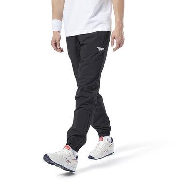 reebok slim fit track pants