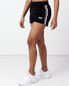 adidas Originals Tape Shorts Black