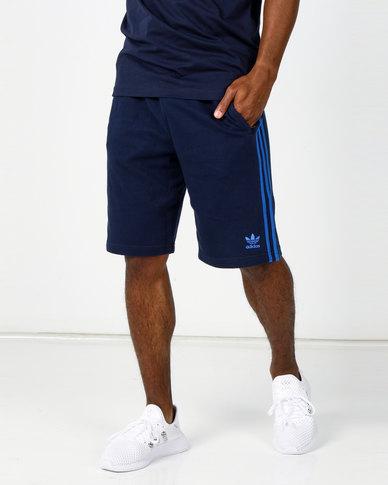 adidas Originals 3 Stripes Short Navy