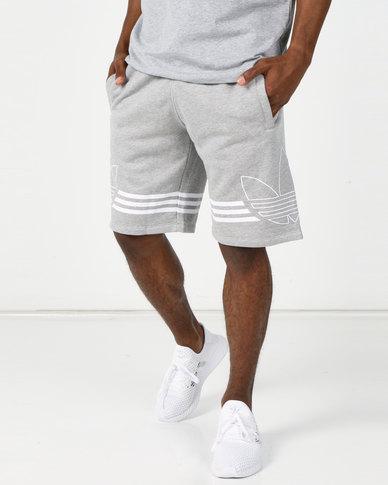 adidas Originals Outline Trf Shorts Grey