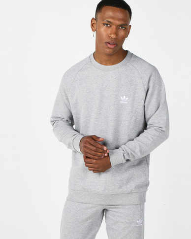 adidas Originals Essential Crew Grey