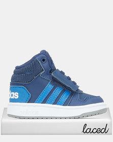 adidas Performance Infants Hoops Mid 2.0 Sneakers Dark Blue