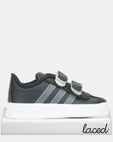 adidas Performance Infants Core Vl Court 2.0 Sneakers Black
