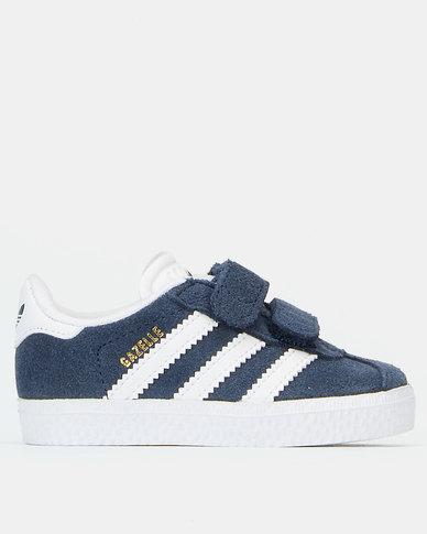 cute cheap huge inventory cute cheap Adidas Infants Gazelle Sneaker Blue