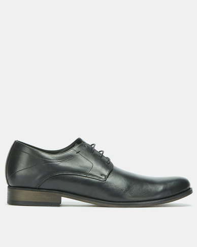 John Drake Formal Lace Up Shoes Black