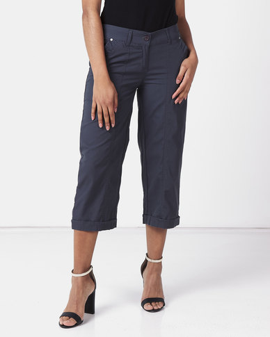 Utopia Basic Cotton Straightleg Charcoal