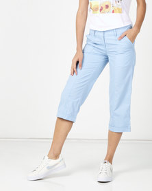 Utopia Basic Cotton Straightleg Light Blue