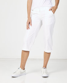 Utopia Basic Cotton Straightleg White