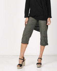 Utopia Basic Cotton Straightleg Dark Green