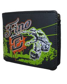 Fino Graffiti Design Wallet-Green