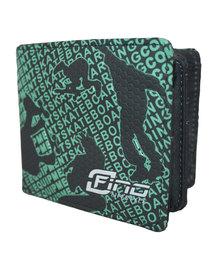 Fino Graffiti Wallet-Green