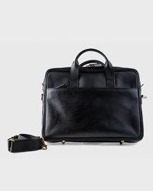 Zvitang Cambridge Laptop Bag Black
