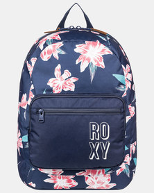 Roxy Girls Happy At Home Backpack Blue