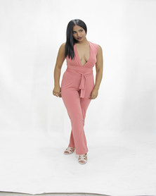 INFIN8TI Aby Wrap Jumpsuit