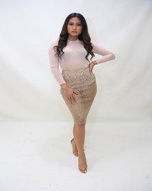 INFIN8TI Sheer Bling Skirt
