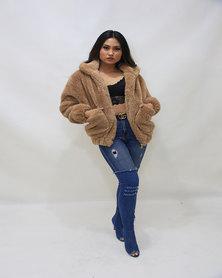 INFIN8TI Teddy Coat