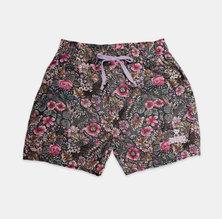 Eco-Punk woven shorts printed