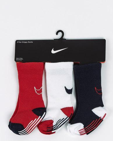 Nike University Track Gripper Socks Red