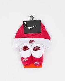 Nike Nhn Nike Futura Hat And Bootie Rush Pink