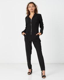 Sissy Boy Elite Eclipse Boilersuit Black