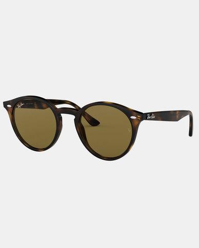 Ray-Ban RB2180 Sunglasses Dark Havana