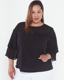 Utopia Plus Floaty Top Black