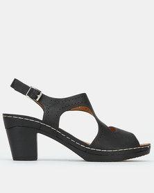 Butterfly Feet Warren Heels Black