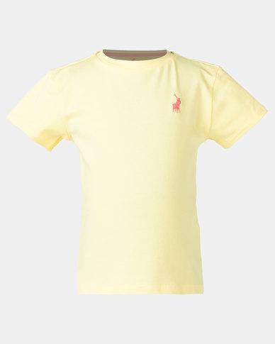 Polo Girls Kelly SS Tee Yellow