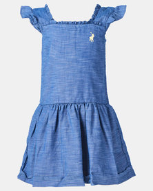 Polo Girls Gianna Dress Navy