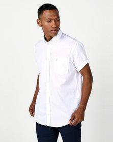 Polo Mens Preston Weekender Shirt White
