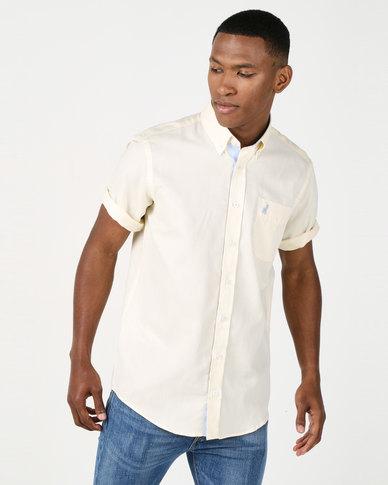 Polo Mens Preston Weekender Short Sleeve Shirt Butter