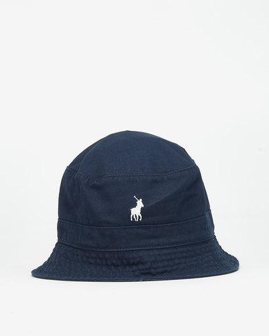 Polo Sydney Twill Bucket Hat Navy