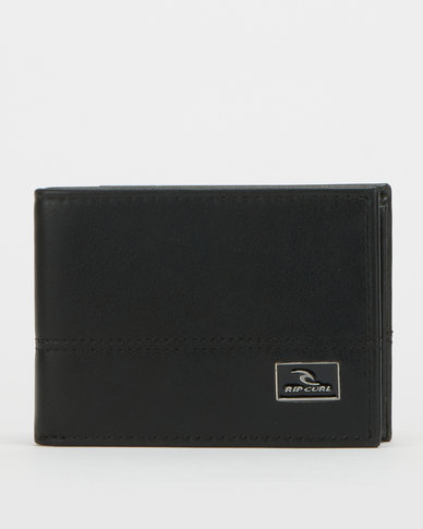 Rip Curl Corpawatu Icon PU Slim Wallet Black