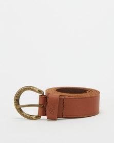 Polo Belts Charlie Leather Belt Tan