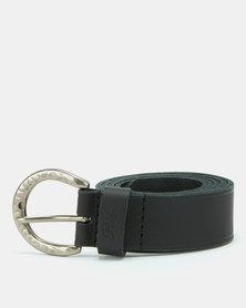 Polo Belts Charlie Leather Belt Black