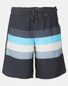 """Hurley B Phtm River Volley 15"""" Multi"""