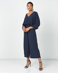 Slick Ces Kimono Jumpsuit Navy