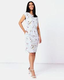 non-european® Day Dress Dove Grey Solace