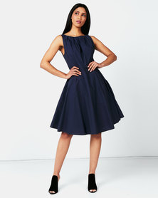 non-european® Twist Dress Slate