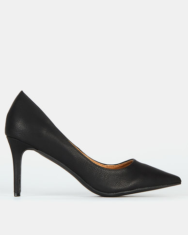 Madison Catalina Court Heels Black
