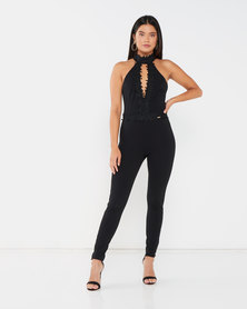 Sissy Boy Party's Here Jumpsuit Black
