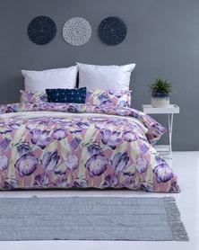 Pierre Cardin Blooming Garden Duvet Cover Set Multi