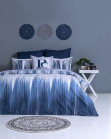 Pierre Cardin Miranti Duvet Cover Set Blue/White