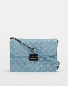 Sissy Boy Flapover Sling Bag Blue