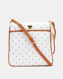 Polo Ascot Crossbody Bag White